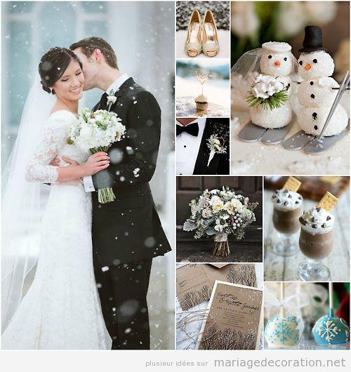 Decoration Eglise Mariage Hiver : Détails pour décorer un mariage pendant l hiver