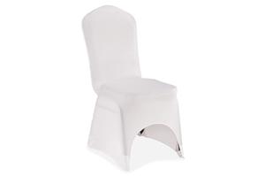 Housses de chaises universelles lycra blanc 1,20€-