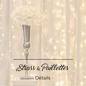 strass pailletes décoration toulouse mariage événement