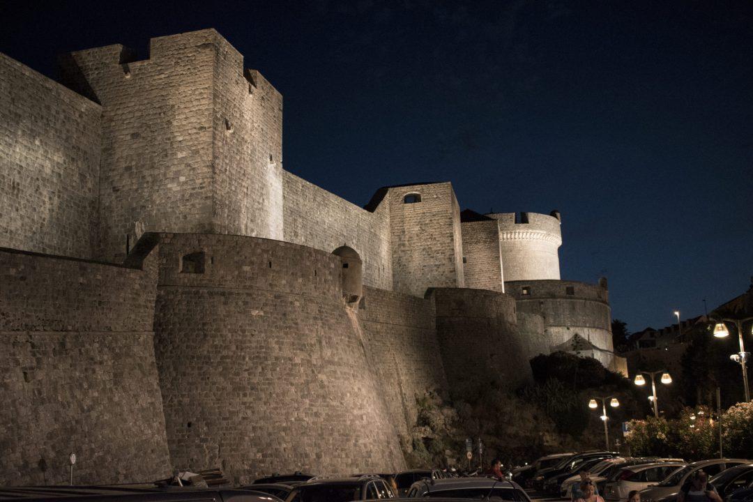 Croatie, voyages, ville, remparts, château fort, voyage de noces