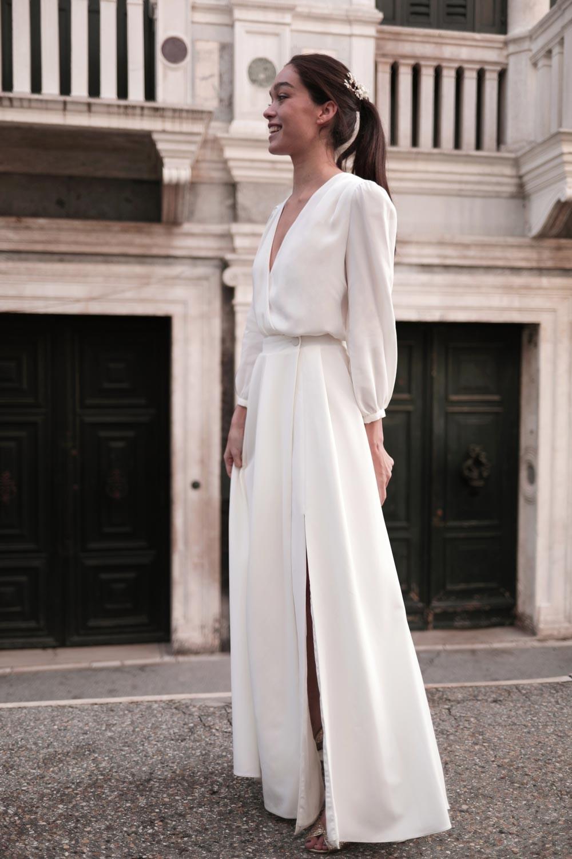 collection mariage 2021, blouse Emma, Robes de mariée 2021