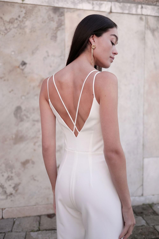 combinaison Diana, Maison Lemoine Paris, collection mariage 2021, robes de mariée