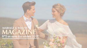 Magazine Mariage & Beauté, vente du magazine de mariage, couple de mariés, Hôtel Le Vieux Castillon, Castillon du Gard, Mariage de luxe, mariage luxe sud de France