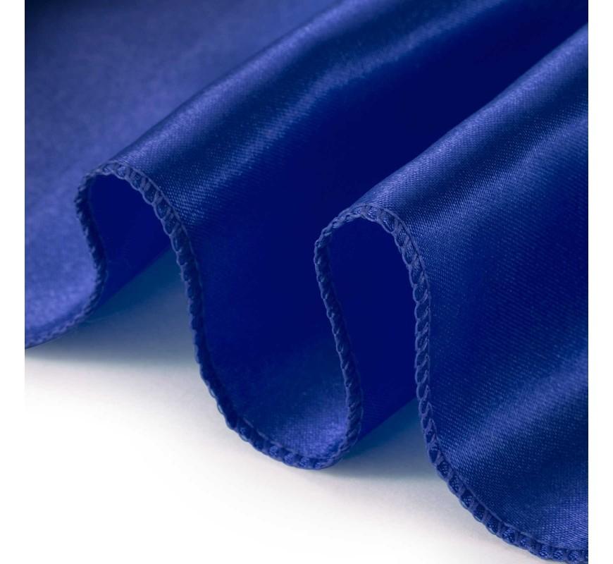 Chemin De Table Satin Bleu Roi Les Couleurs Du Mariage Mariage Et Rception
