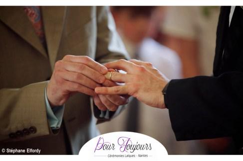 Pour toujours ceremonies ceremonie laique nantes 44 mariage homosexuel union gay