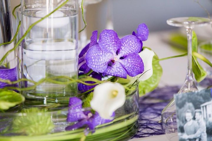 les jolies choses coueron fleuriste nantes pays de la loire bretagne centre de table orchidee vanda