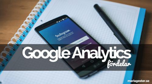 Google Analytics - fördelar