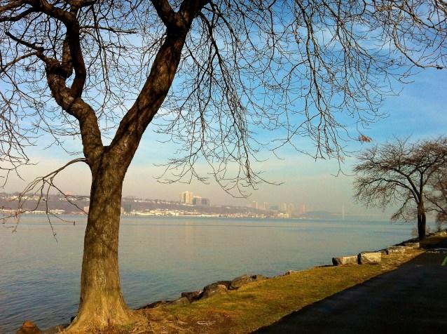 Day 65:B Hudson River blue day