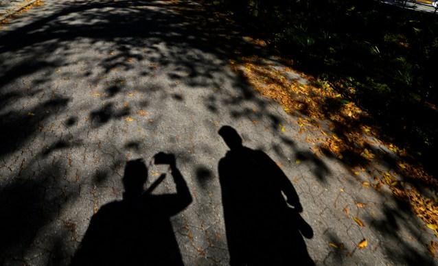 Day 278:3 shadow portrait