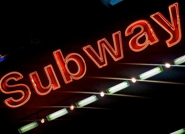 Day 329:3 B Subway