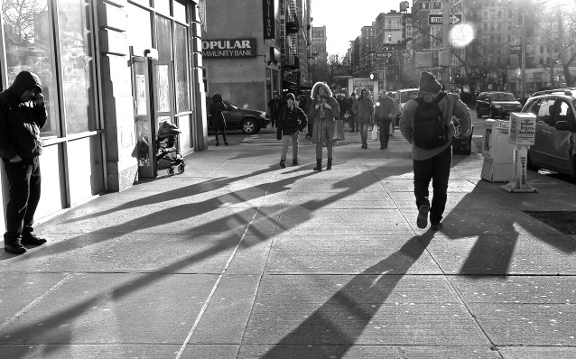 Day 16:4 long shadows