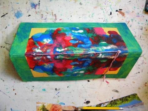 ink blot art journal