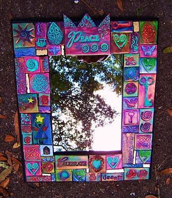 peace mirror