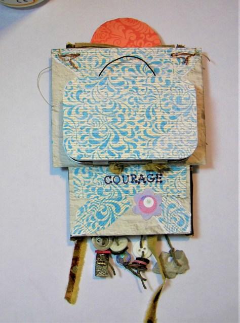 Back of spirit box