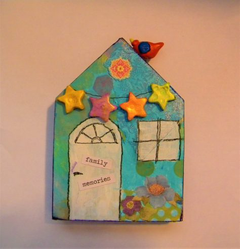 Whimsical art house tutorial.