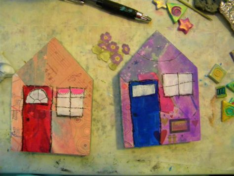 Windows and doors, art house tutorial.