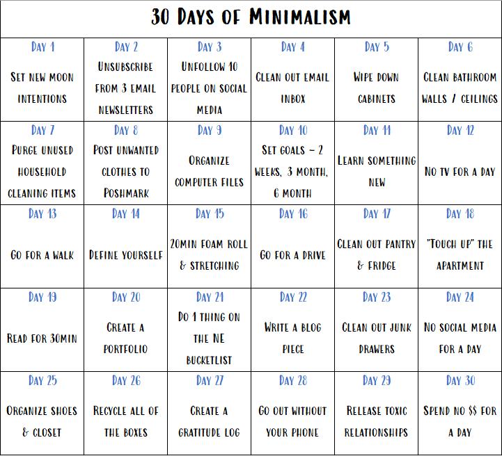 MinimalismCalendar