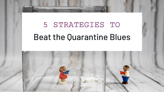 5 strategies to beat the blues