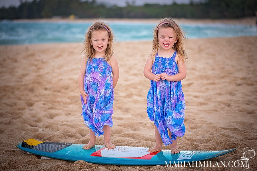 Tropical Twins on Maui's North Shore