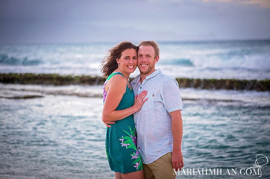 Baby Beach Sprecks Couple