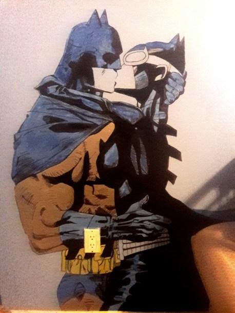 batman-and-catwoman-mural