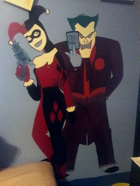 harley-quinn-and-joker-mural