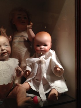 """Kaiser baby doll from about 1912 and a """"Dream Baby"""" A. Marseille"""