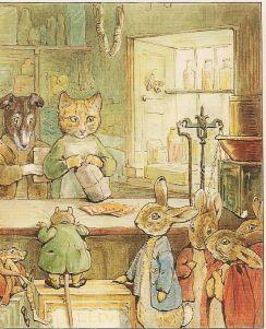 Beatrix Potter og Ginger and Pickles