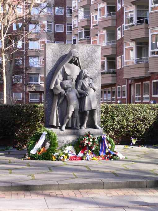 The Memorial for the casualties at the French School in Frederiksberg