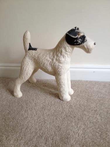 My friend's porcelain dog