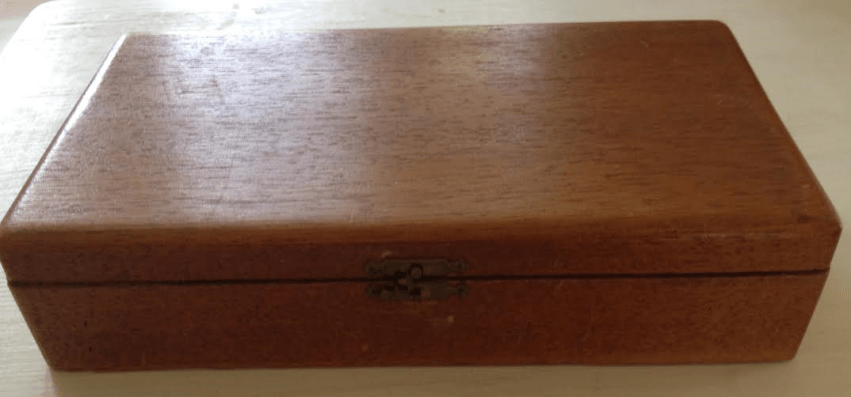 The cigar box from my grandmother