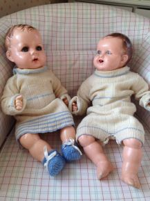My own dolls bought a long time after my childhood