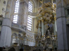 Inside the Frauen Kirche