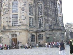 The Frauen Kirche Dresden