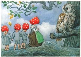 Illustration by Swedish Elsa Beskow
