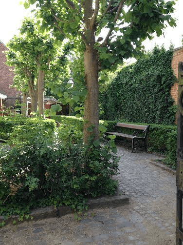 An old garden in Viborg