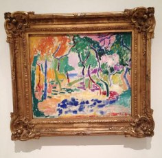 Landscape near Collocure 1905 Matisse