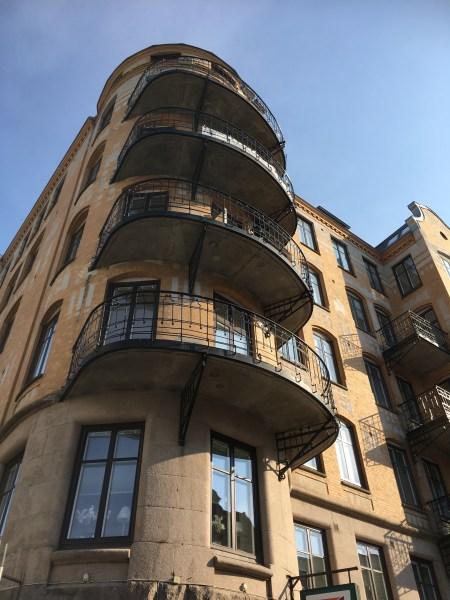 An Art Nouveau building in Gothenburg