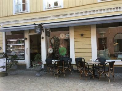A café in Eksjö