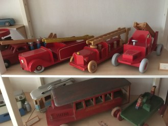 fire engines and busses