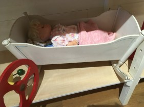 a doll bed