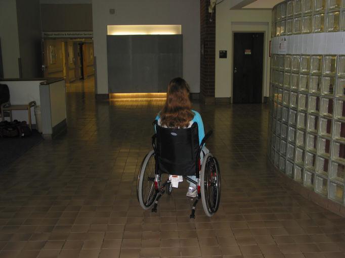 Heading Home (McGuire VAMC, 12/11/08)