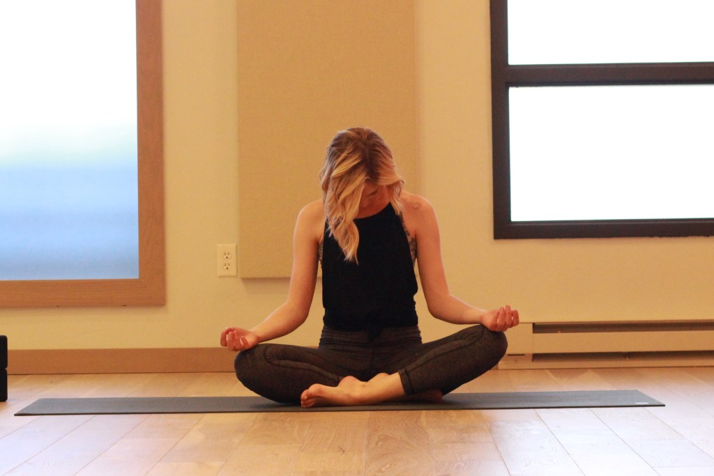 Seated Neck Stretches with Arm Extension
