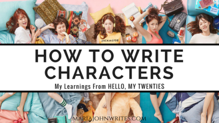learn how to write characters age of youth