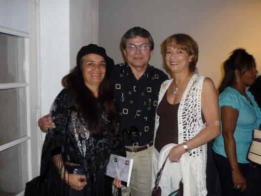 Martha Dazza, José Alvarez y María Juliana