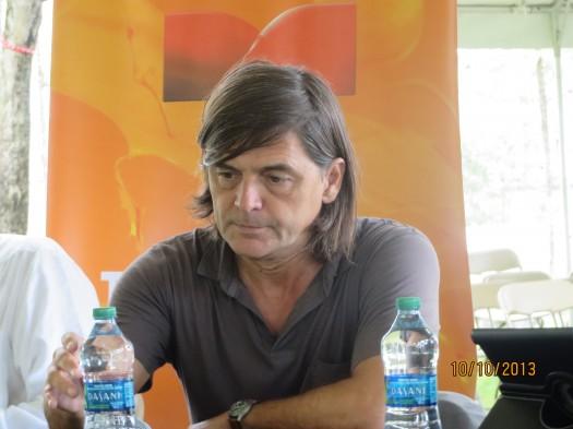 El escritor español Jacinto Antón.