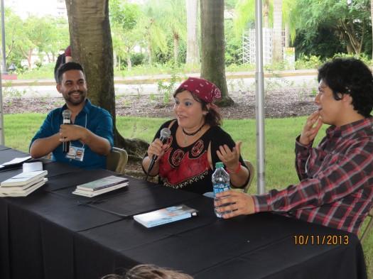Ana María Fuster Lavín, Alan Mills y Ängel Antonio Ruíz Laboy.