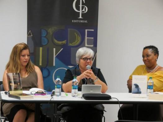 Rosa Vanessa Otero, Lilliana Ramos-Collado y Yolanda Arroyo