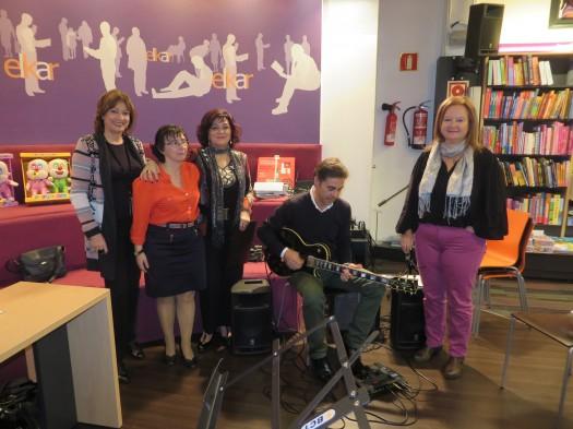 María Juliana Villafañe, María José Mielgo, María Ángeles Pérez Ondiviela, Sacratif y Marga Azkona
