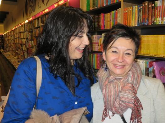 Idoia Mielgo y Carmen Carballo